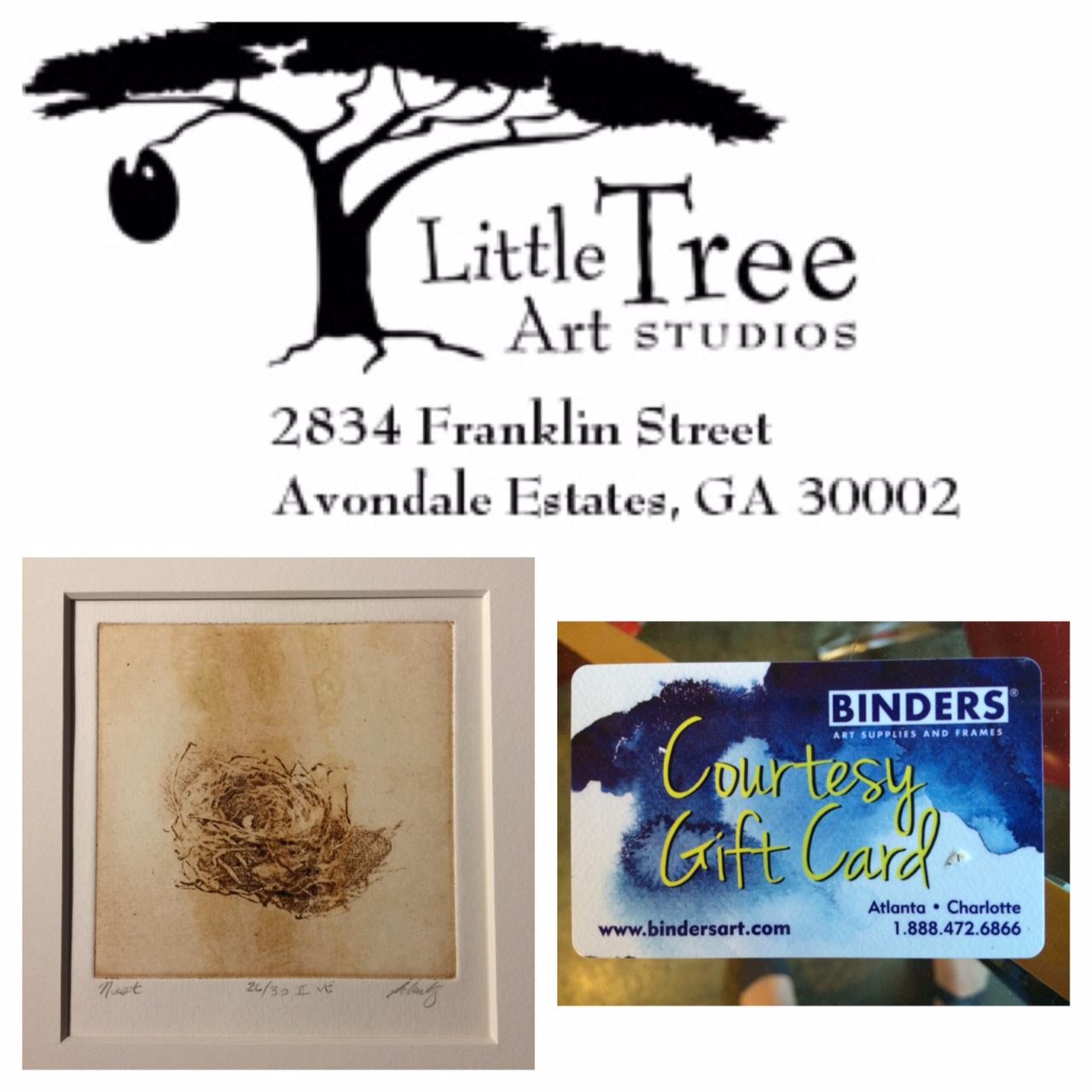 RAD2017 Raffle Winners - Little Tree Art Studios